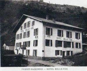 Hôtel Bellevue à Nancroix