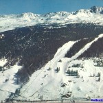Front de neige de Plan Peisey 1960