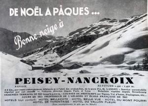 Publicité parue en janvier 1937