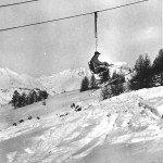 Télésiège de Peisey 1949