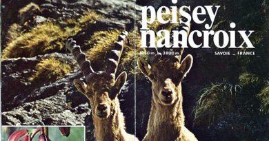 Prospectus chamois à peisey