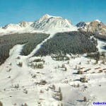 Front de neige de Plan Peisey1960
