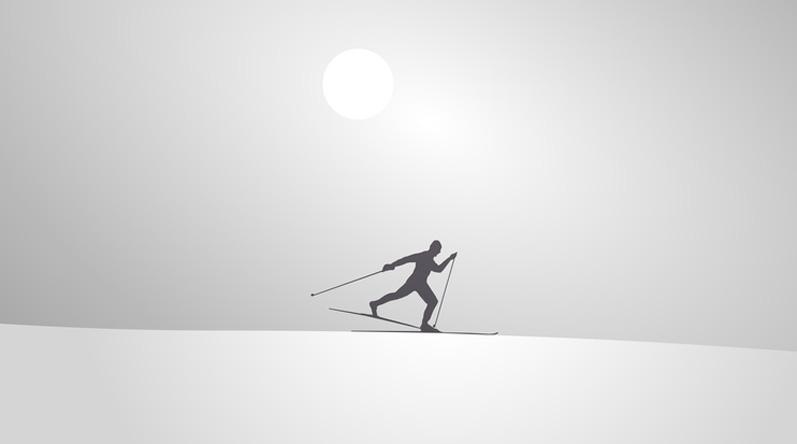 ski de fond Peisey Vallandry