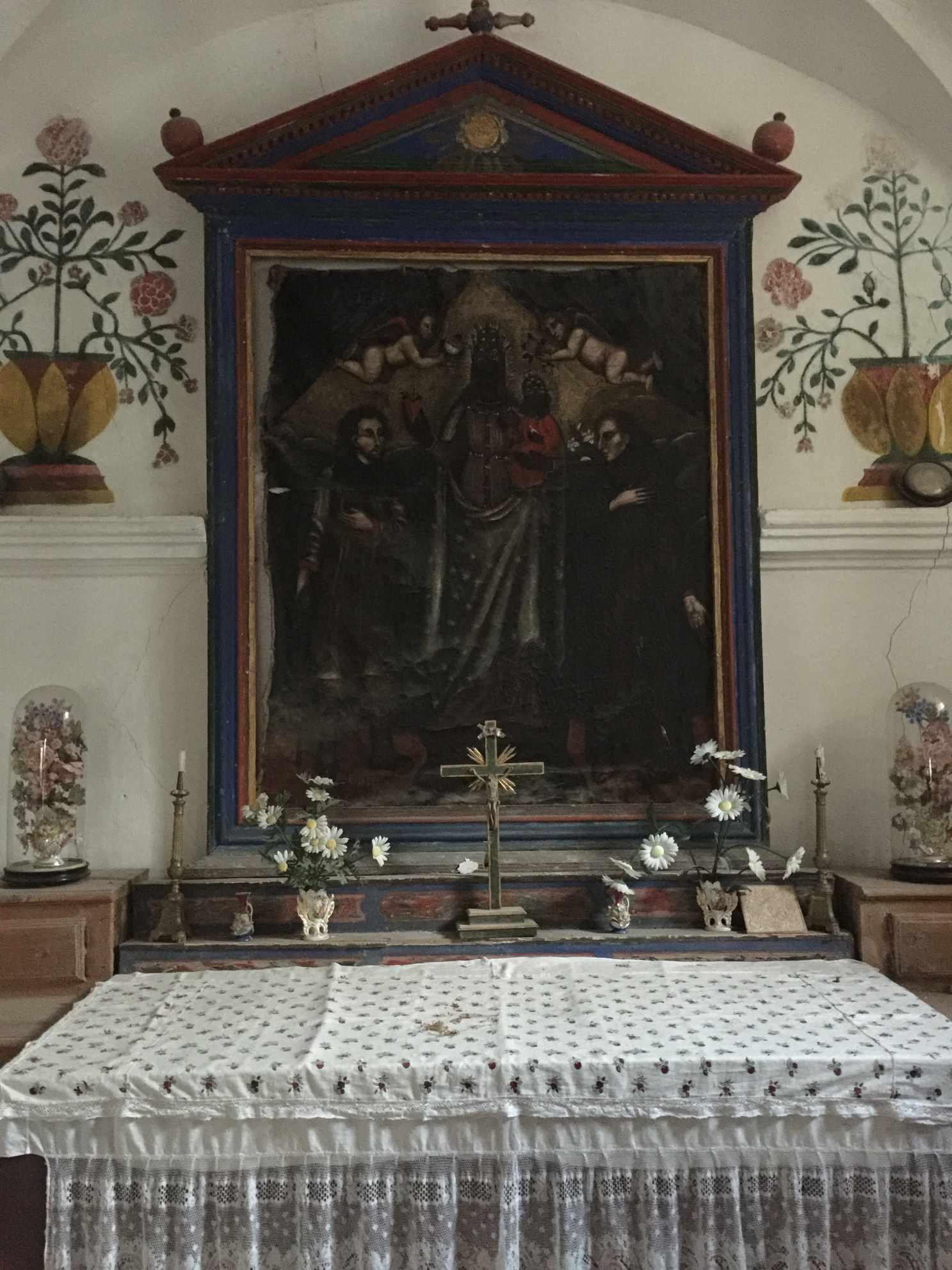La Vierge Noire à Pracompuet