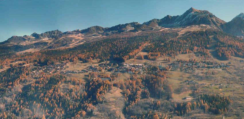 Couleurs d'automne à Peisey-Vallandry