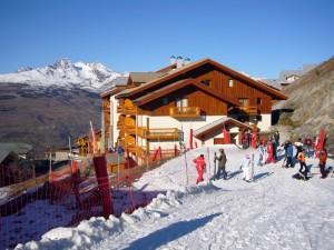Le départ à skis