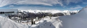 Télésiège Mont-Blanc le 26 novembre 2015