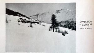 Plan Peisey 1937