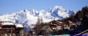 Plan Peisey et le Mont-Blanc